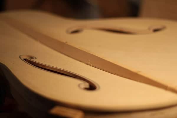 Rough Fitting Guitar Braces