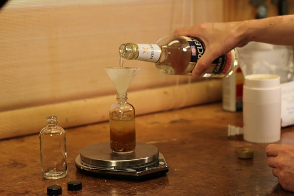 alcohol for french polishing