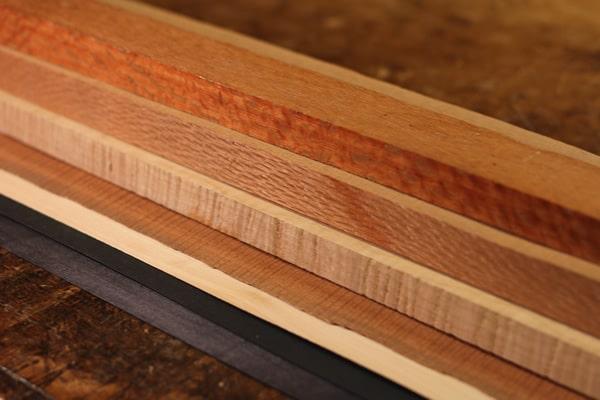Wood Veneers for guitar making