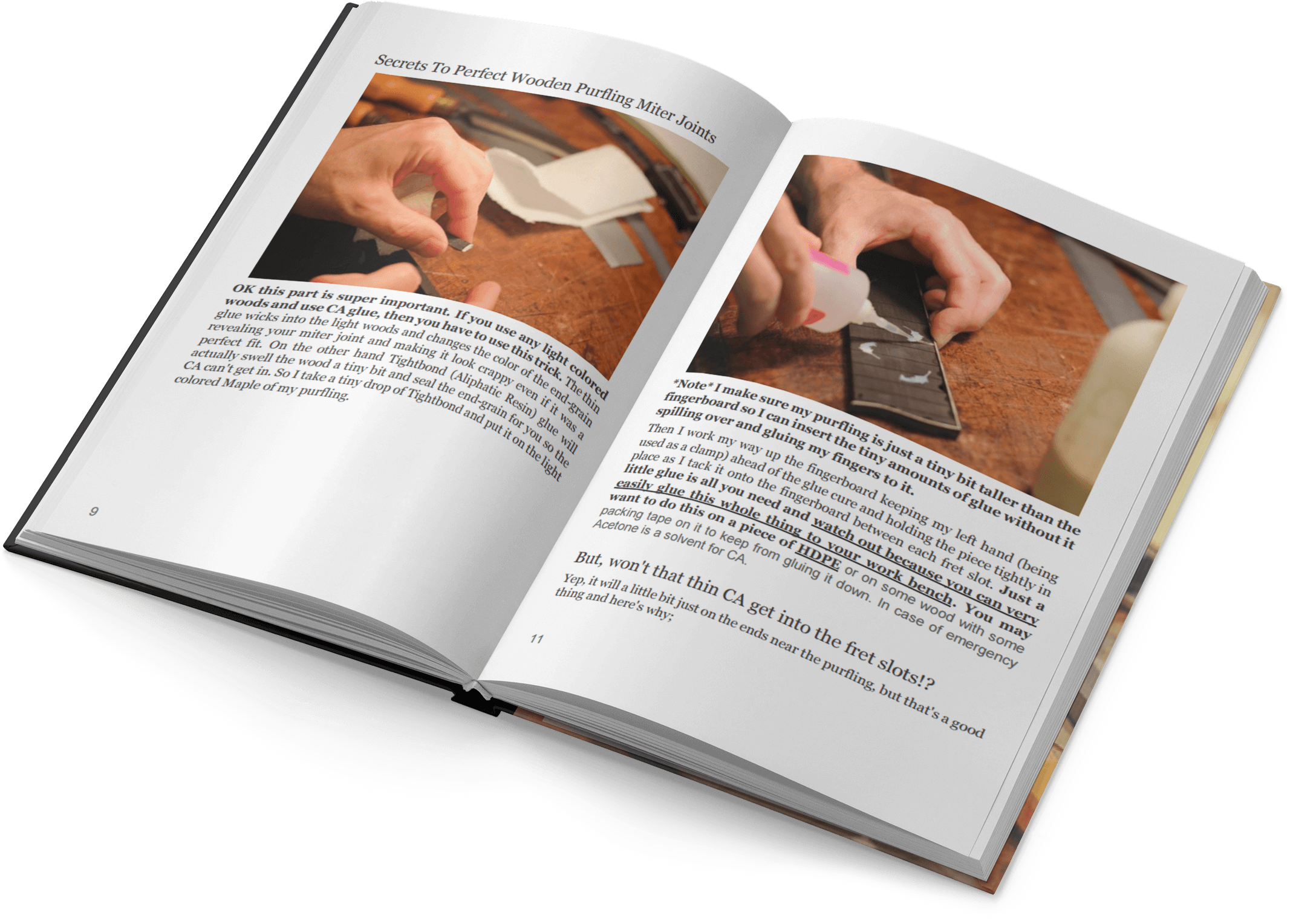 Guitar Purfling technique book