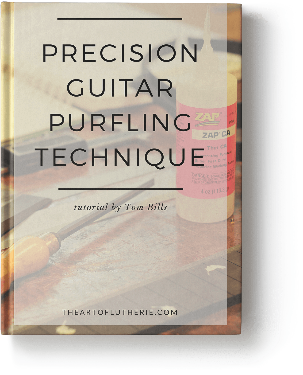 Guitar Perfling - Book Cover