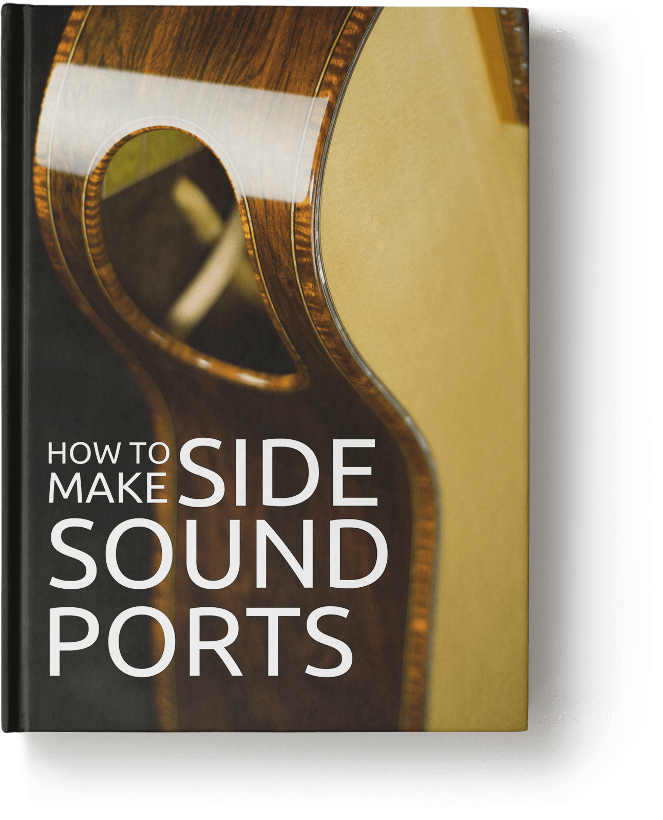 how to make a guitar side port
