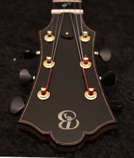 Headstock Binding square