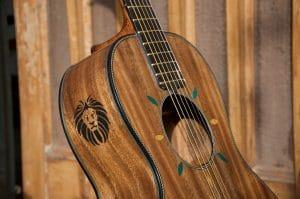 Bigfoot guitars Karan Singh guitar luthier