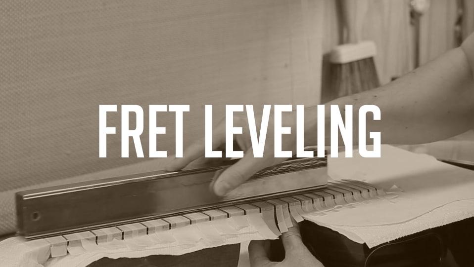 fret leveling