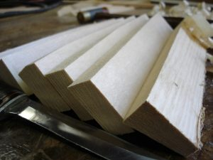 Rough Split Spruce Tone Bars