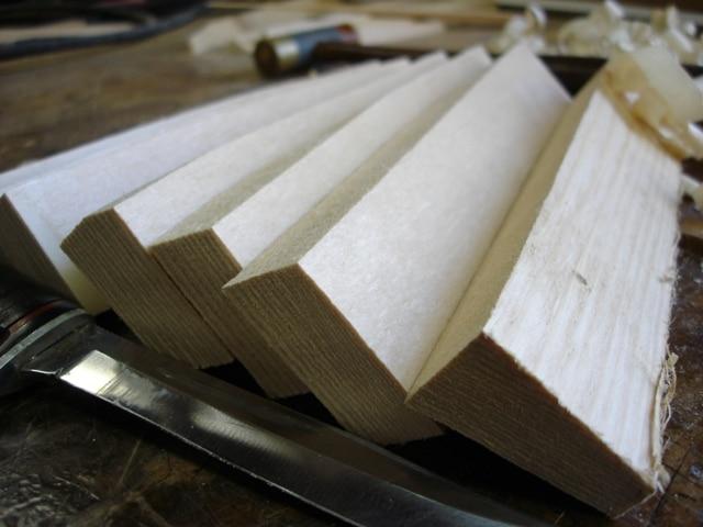 Rough Split Spruce Tone Bars