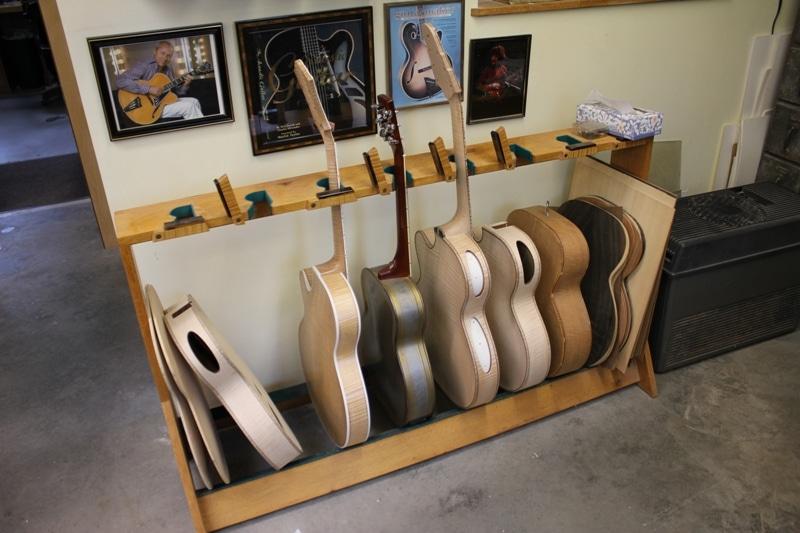 Monteleone Guitars In Progress