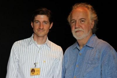 Tom Bills and John Monteleone In Sarzana Italy