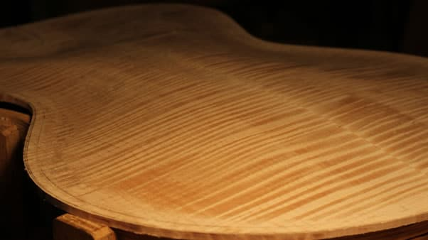making an archtop guitar final
