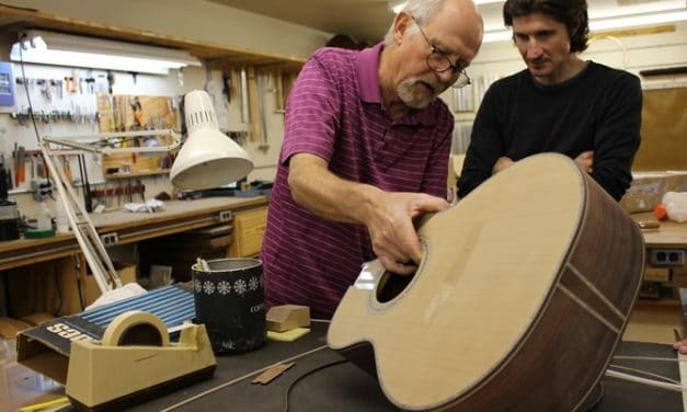 Jim Olson Guitars – Shop Tour
