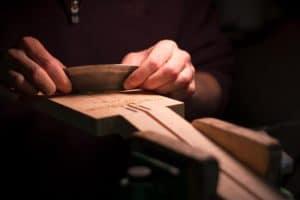 Luthier tools scraper