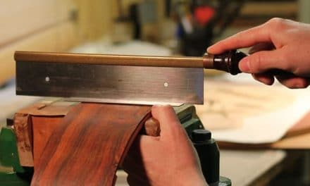 How to Cut A Guitar End-Graft By Hand