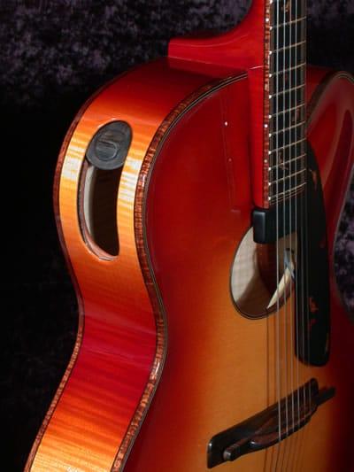 Autumn Oval Hole Archtop Guitar