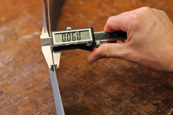 correct measurement for purfling