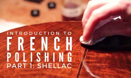 Introduction To French Polishing And Shellac