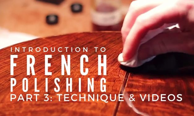 French Polishing Technique And Free Videos