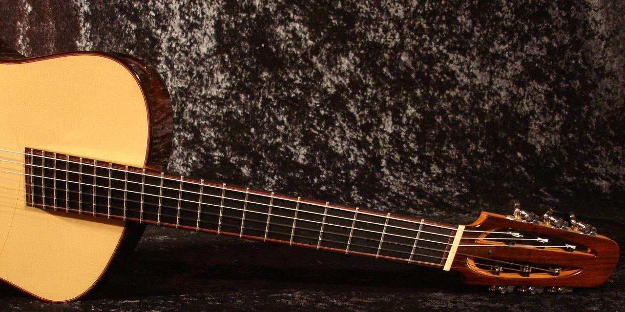 understanding fanned fret guitars the art of lutherie. Black Bedroom Furniture Sets. Home Design Ideas