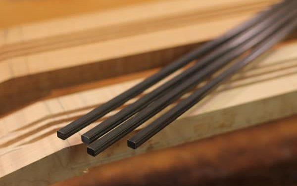 Carbon Fiber Guitar Neck Reinforcement Part 1