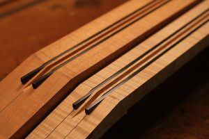 Carbon Fiber Guitar Neck Reinforcement
