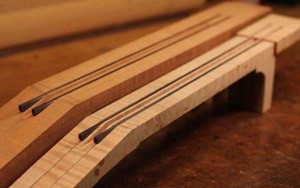 Carbon Fiber Guitar Neck Reinforcement Part 2 Design