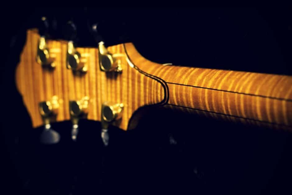 Guitar Headstock Back Strap Overlay