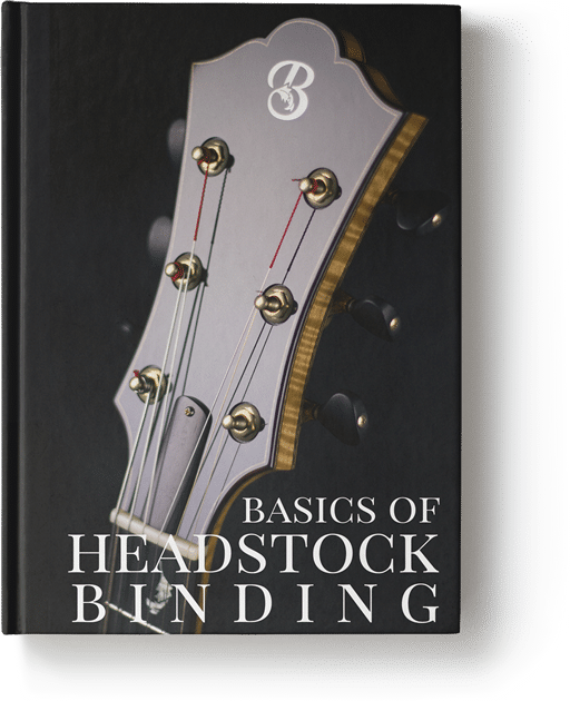 Basics Of Headstock Binding - Book Cover