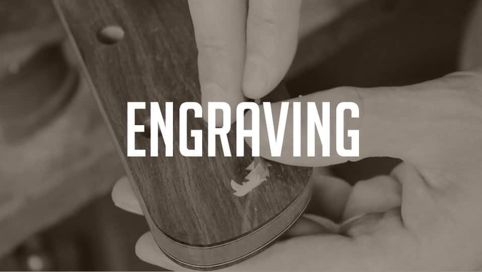 engraving inlay