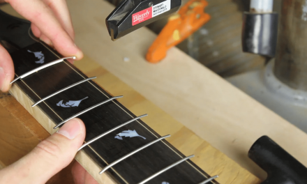 Best Way To Install Frets: Guitar Fret Press VS Fret Hammer
