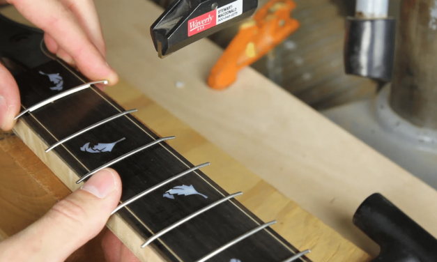 Best Way To Install Frets: Guitar Fret Press VS Fret Hammer