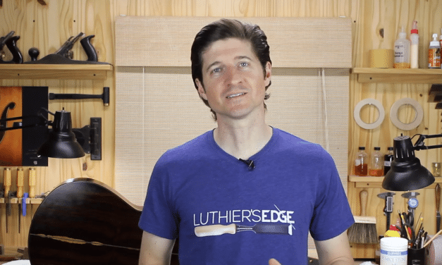 A Simple Guitar Finishing Trick  – Art Of Lutherie Podcast #5