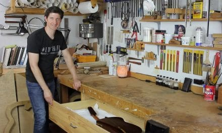 The Luthier's Cabinet – The Art Of Lutherie Podcast