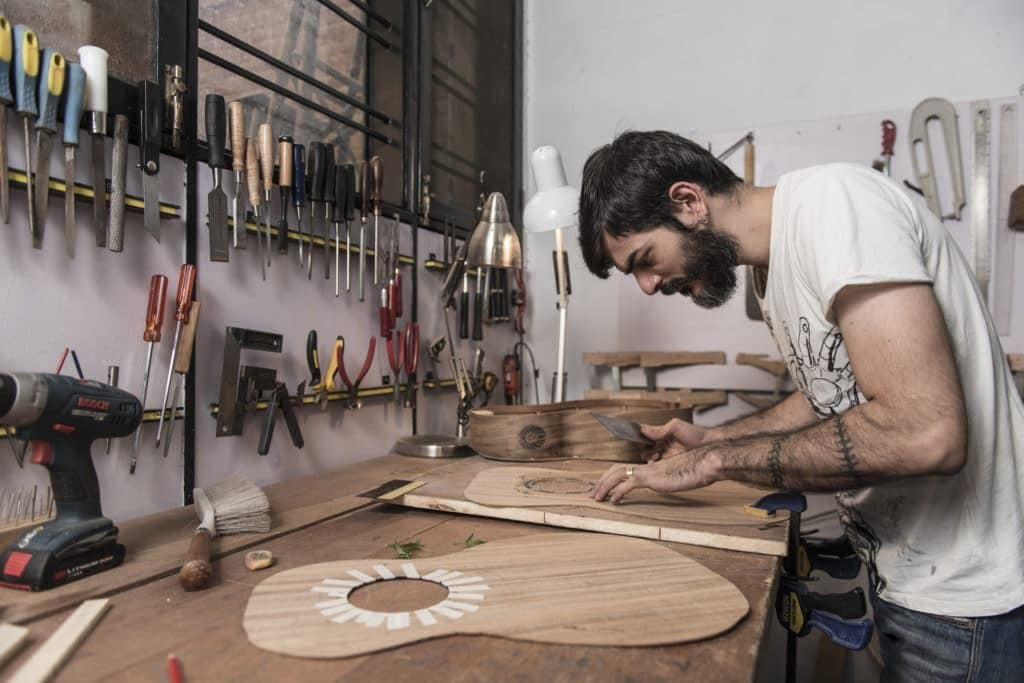 Luthier Karan Singh - The Luthiers EDGE