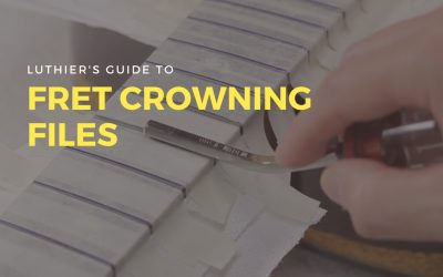 Fret Crowning Files (Luthier's Guide)