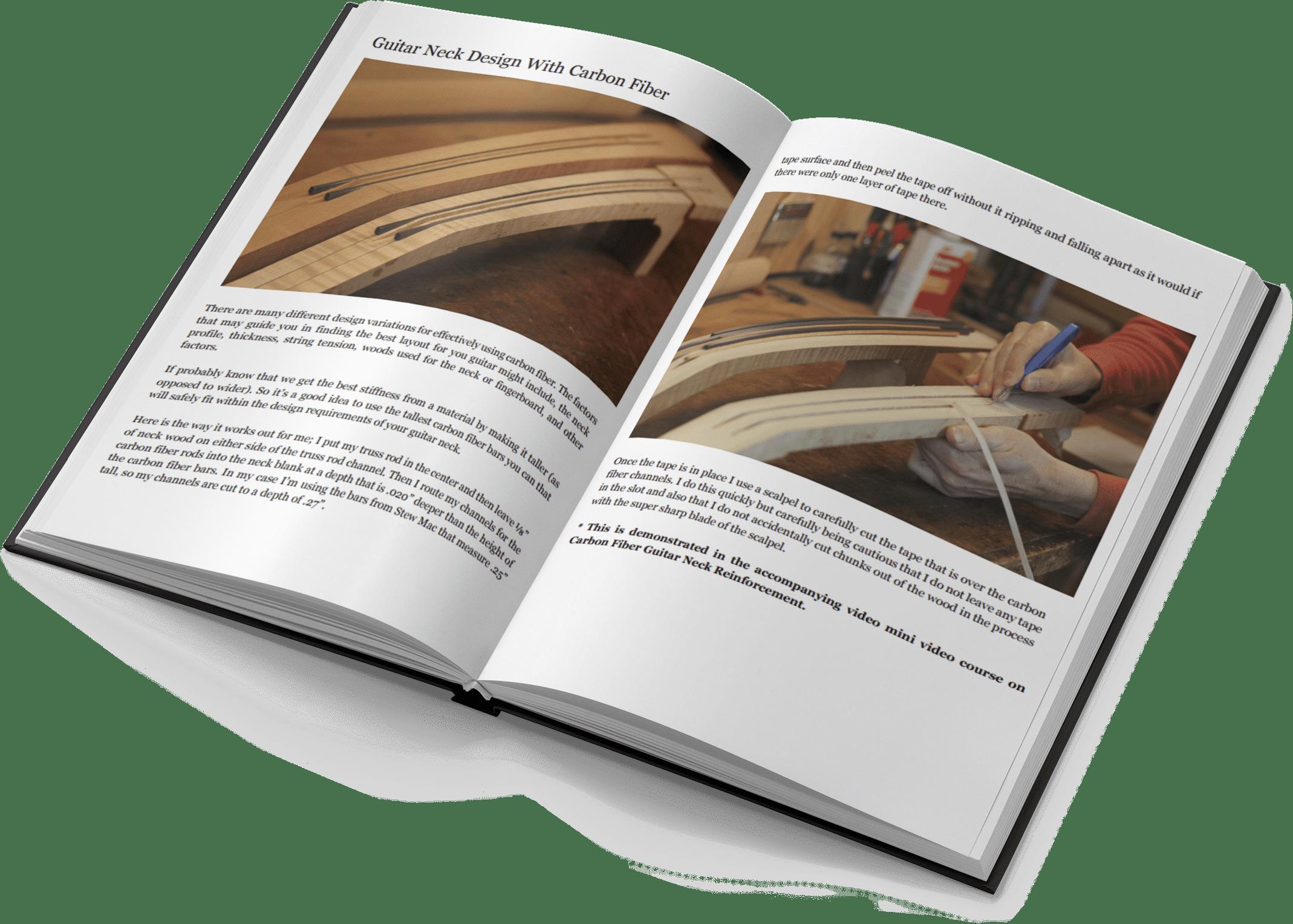 Carbon Fiber Open Pages