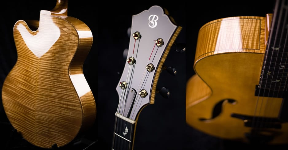 French Polishing Archtop Guitars