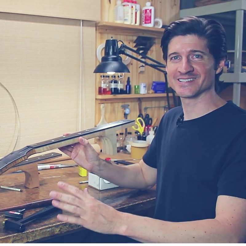 Guitar Fretwork Course - Tom Bills Master Luthier
