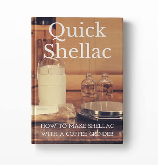 quick shellac book