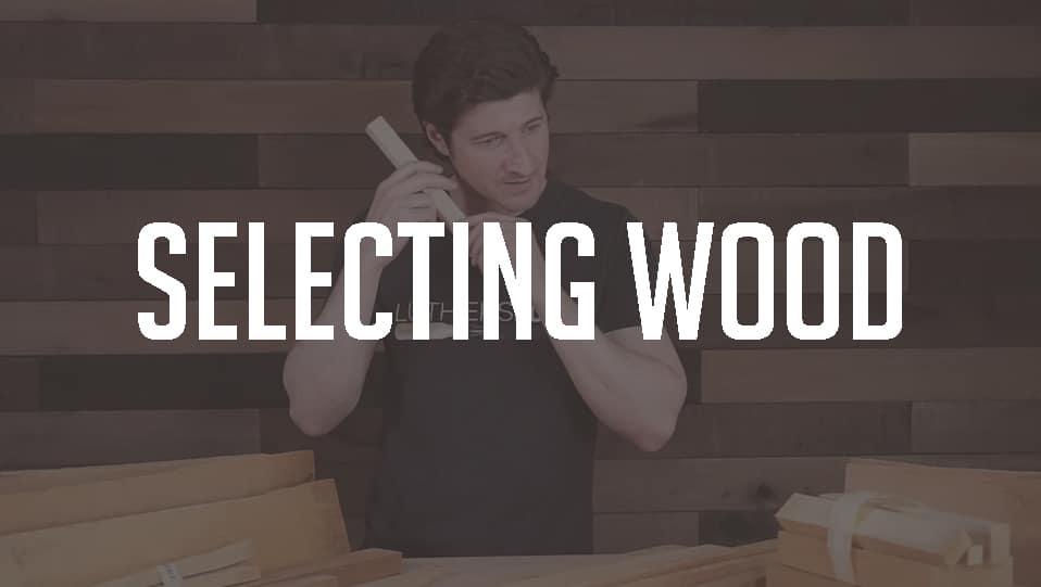 Selecting guitar bracing wood