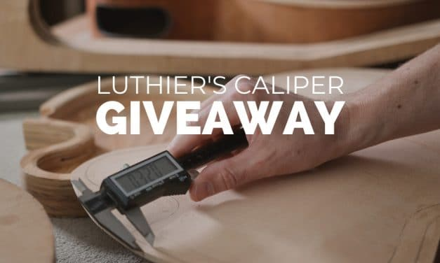 Luthier's Caliper Giveaway