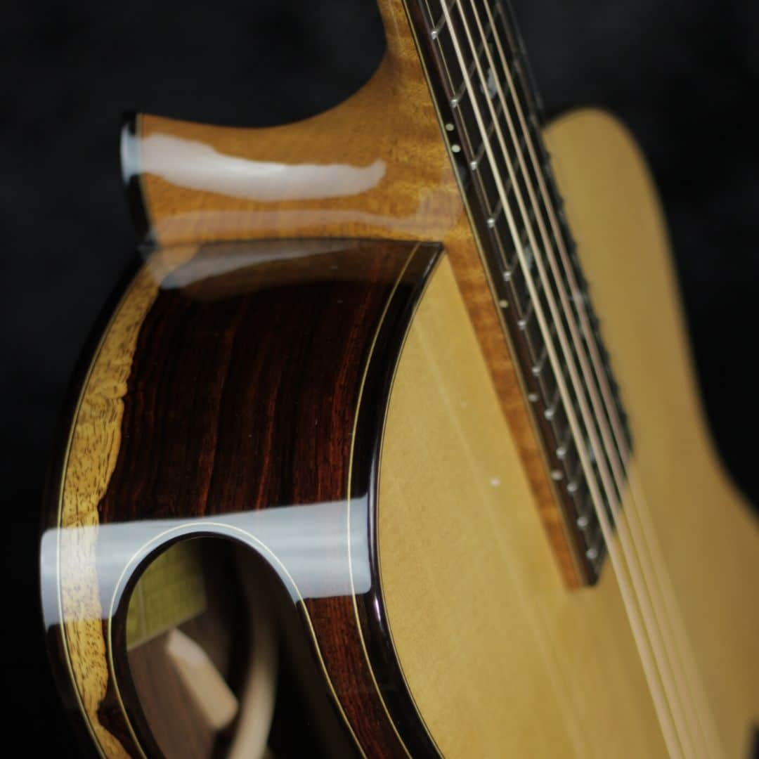 how to make an elevated fingerboard guitar