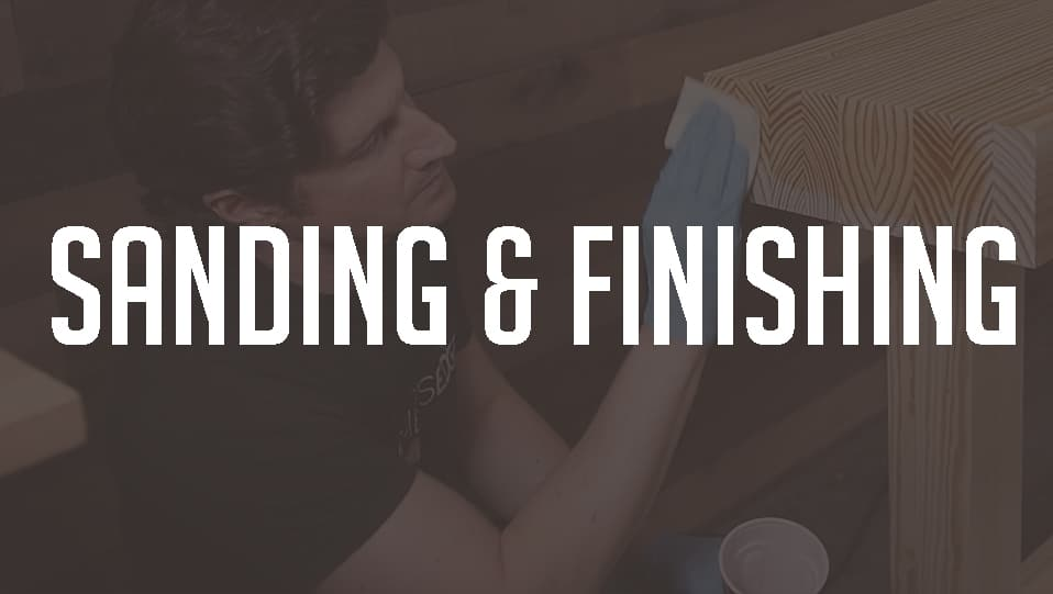 Sanding Finishing