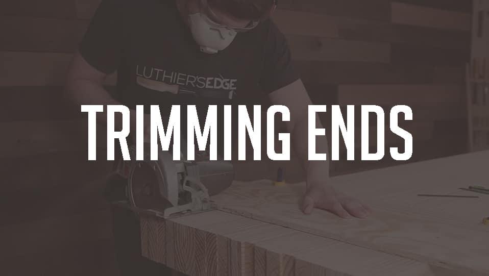 Trimming Sanding