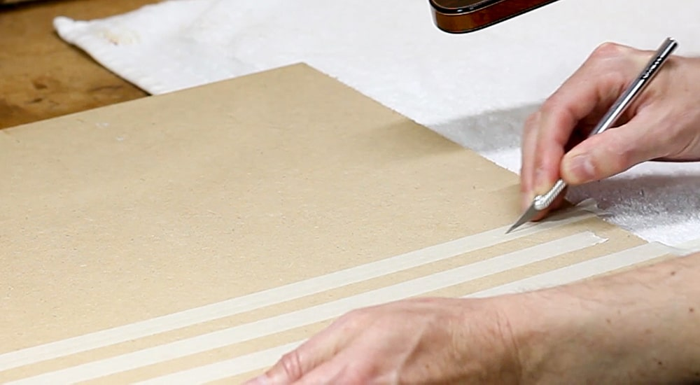 tape guitar making luthier luthiers binding