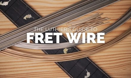 Guitar Fret Wire – The Ultimate Luthier's Guide