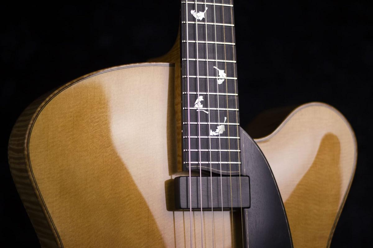 Cremona-arch-top-guitar-frets-Tom-Bills-guitars
