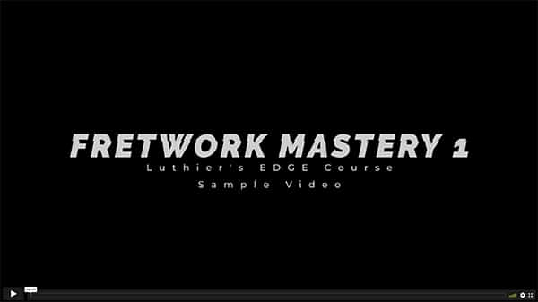 Fretwork Mastery Sample Video