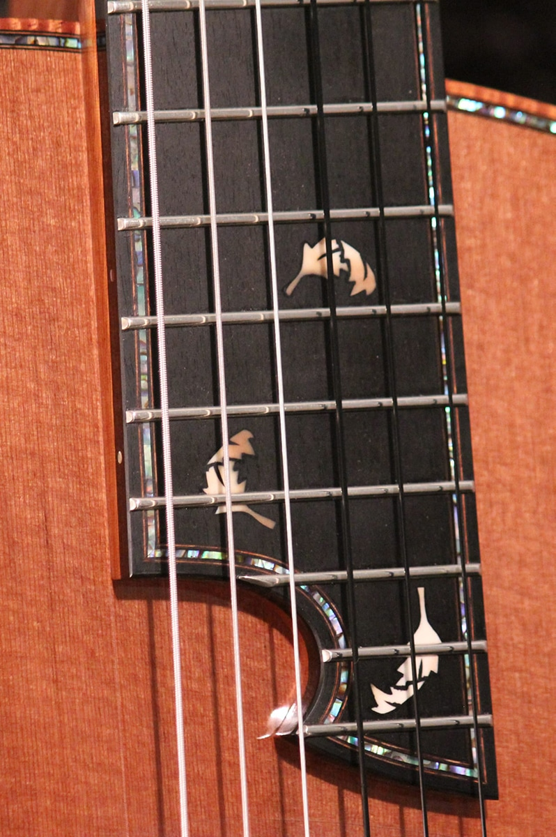 fret wire detail tom bills guitars