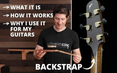 What Is A Guitar BackStrap Overlay